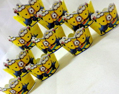 Wrappers Mini Cup Cake Minions