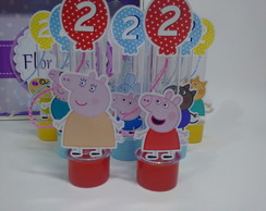 Tubete Personagens Peppa Pig Colors