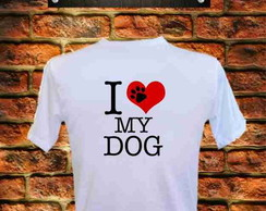 Camiseta Love my dog