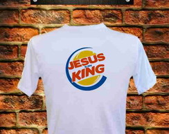 Camiseta Jesus is my King