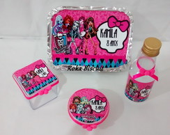 Kit Monster High 4 peças