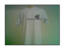 Camiseta Adulto Bordada Cód.R101