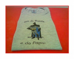 Camiseta Infantil Bordada