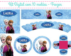 Kit Festa Digital Frozen