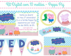 Kit Festa Digital Peppa Pig