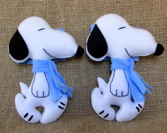 Prendedores de Cortinas do Snoopy