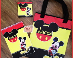 Kit Para Colorir e Sacola - Mickey