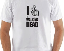 Camiseta I love the walking dead