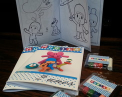 Kit colorir Pocoyo Clean