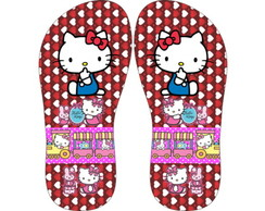 CHINELO PERSONALIZADO HELLO KITTY.