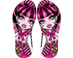 CHINELO PERSONALIZADO, MONSTER HIGH