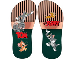 CHINELO PERSONALIZADO, TOM E JERRY.