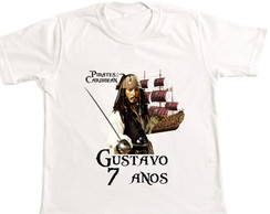 Camiseta Piratas do caribe