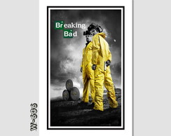 Quadro 60x40cm Tv Seriados Breaking Bad