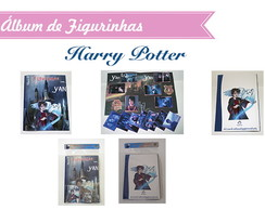 Álbum de Figurinhas Harry Potter