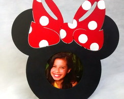 Porta-retrato da Minnie e Michey