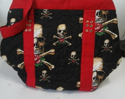 Bolsa Dark Skull Fashion