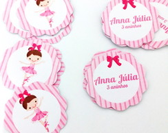 Toppers personalizados 3cm