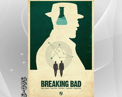 Poster 30x45cm Seriados Tv Breaking Bad