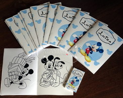 Livro de Colorir - Minnie e Mickey