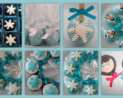 kit de doces tema: frozen