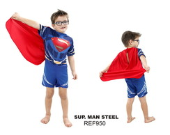 Fantasia Personagens Super Man