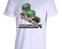 Camisa Camiseta Minecraft 02  89ee26625f413