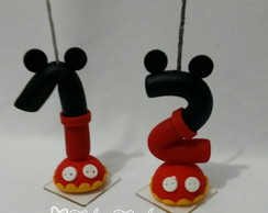 Velas decorada Mickey