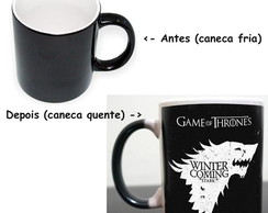 Caneca Magica Game of Thrones