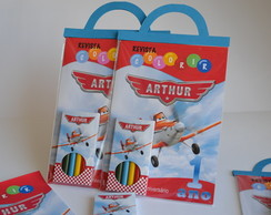 Kit colorir Aviões Disney