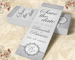 Marcador de Livro Save The Date - 00014