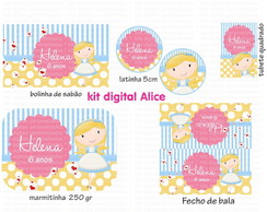 Kit Digital tema Alice