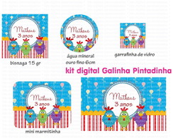 Kit Digital Galinha Pintadinha