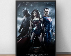 Quadro Filme Batman vs Superman