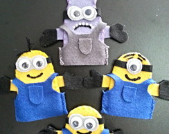 Kit Dedoches dos Minions