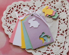 Easter Tags Pastel (A118)