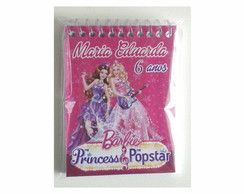 Bloquinho Barbie Pop Star