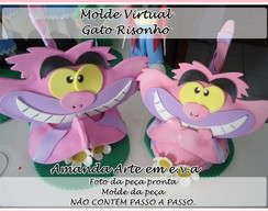 Molde Virtual Gato Risonho