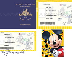 KIT DIGITAL - MICKEY PASSAPORTE