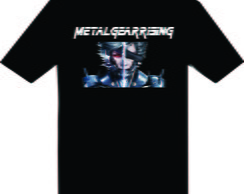 Camiseta do jogo Metal Gear Rising
