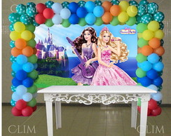 Painel Grande Barbie Pop Star