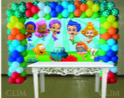 Painel Grande Bubble Guppies