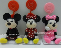 Mickey e Minnie porta recado