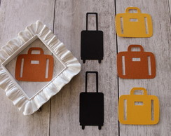 BLACK FRIDAY - Apliques Suitcases (A13)