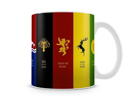 Caneca Game of Thrones - Casas