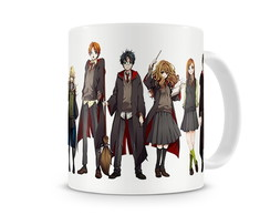 Caneca Harry Potter Anime
