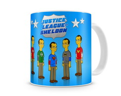 Caneca The Big Bang Theory - Sheldon Jus