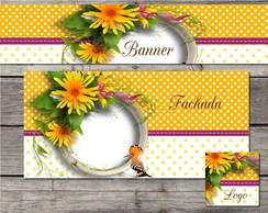 kit Elo7 floral yellow (BAZAR)