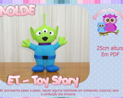 Molde do ET- Toy Story