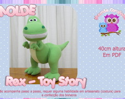 Molde do Rex - Toy Story